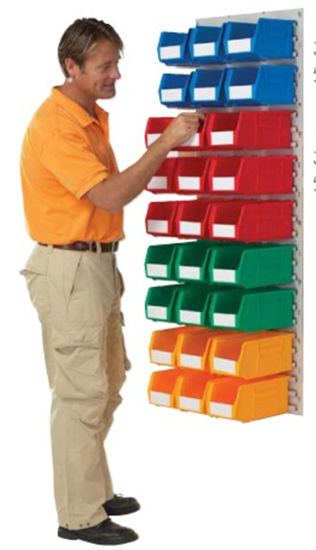 Storage Bin, Plastic Warehouse Stoarge Box