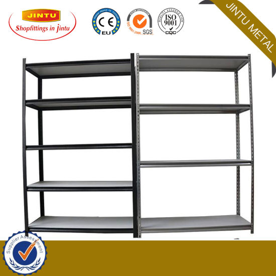 Light Duty Boltless Rivet Shelving Metal Shelf Rack for Garage Storage