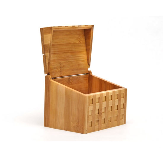 Natural Bamboo Square Tea Storage Tea Box pictures & photos