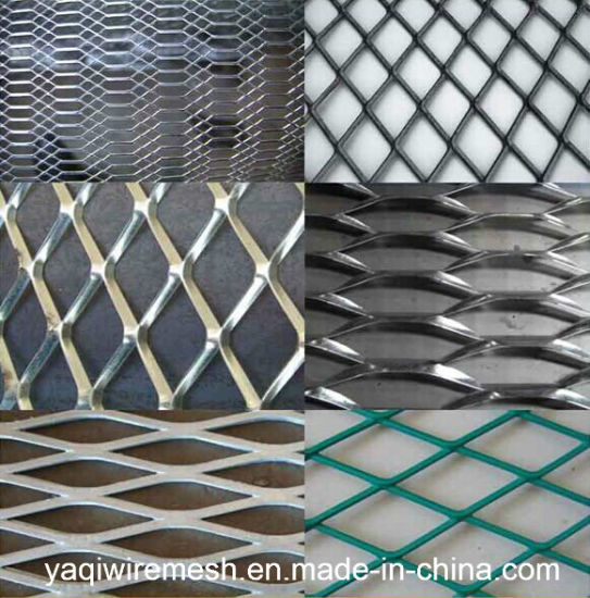 China Supplier Galvanized Powder Coated Expanded Metal Mesh
