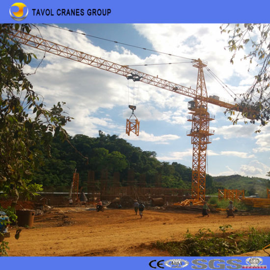 25ton Qtz160-7055 Top Kits Tower Crane Construction Tower Cranes pictures & photos