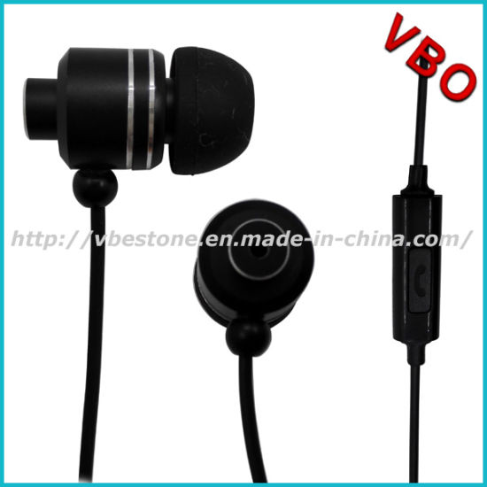 high end metalic mobile earphone for samsung galaxy s3 pictures & photos