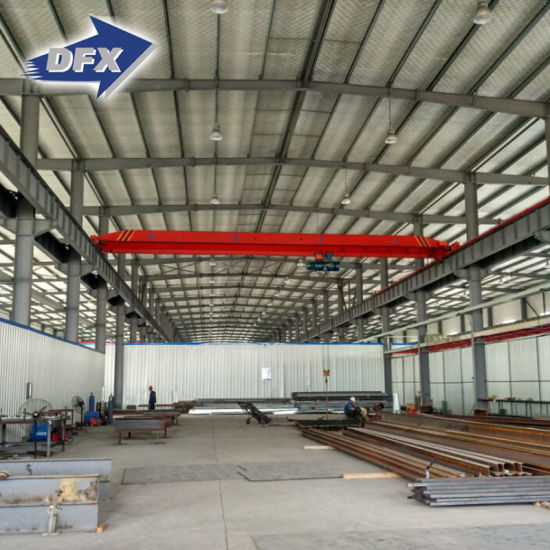 Custom Made Light Weight Prefabricated Steel Structure Warehouse Building pictures & photos