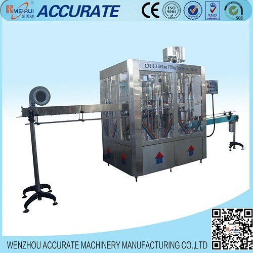 3000bph Automatic Mineral Water Bottling Line (XGF8-8-3)