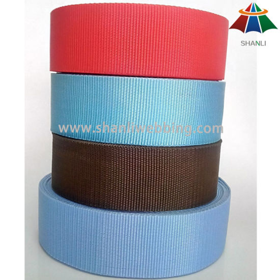 2 Inch 5cm Colorful Flat 900d PP Webbing for Bags