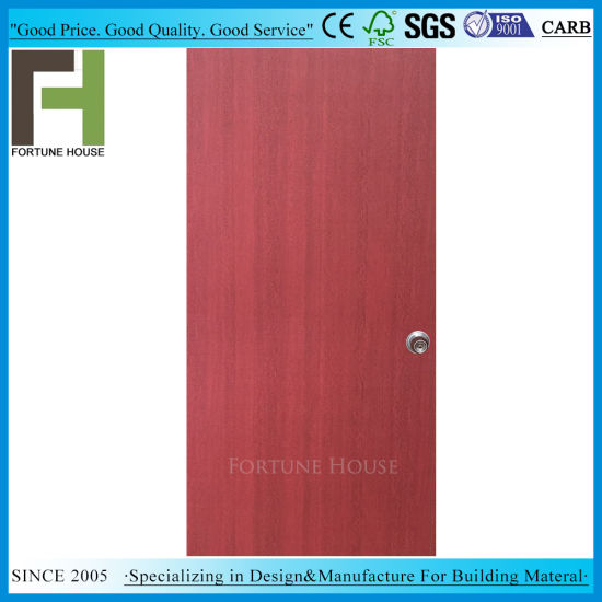 Customized Bedroom Red Sapele Paper Veneer Interior Plywood Flush Door Leaf  sc 1 st  Fortune House Building Material Limited & China Customized Bedroom Red Sapele Paper Veneer Interior Plywood ...