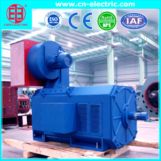Heavy Duty Industrial Use Electric DC Motor for Steel Rolling Mill, Extruder, Cement Mill, Paper Machine