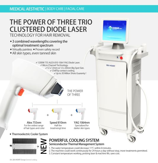 China 2018 Factory Price Ce 808nm Diode Laser Hair Removal For