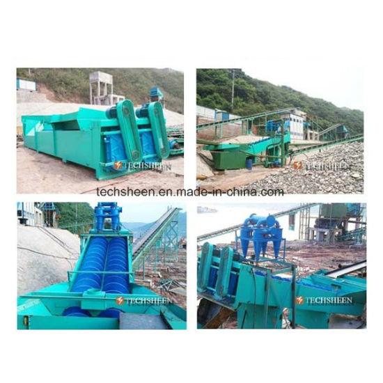Wholesale Double Screw Sand Washing Machine Price for Sea Sand