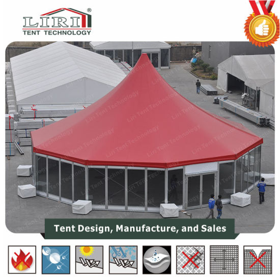 20m Decagonal Aluminium Tent with Liner for Catering and Hotel Party pictures & photos