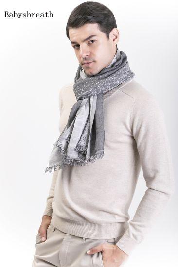 Babysbreath-Cotton &Wool Blended Gentlemen's Scarf