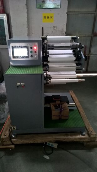 Automatic Small Roll Paper Slitter with Rewinding pictures & photos