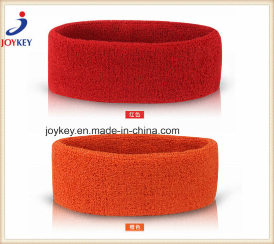 100%Cotton Terry Sports Promotional Headband