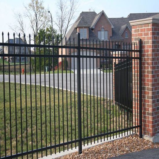 Solid and Beautiful Ornamental Fence Made in China pictures & photos
