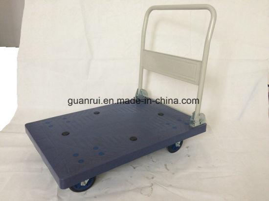 Platform Truck Moving Hand Push Dolly Cart Folding Handle Cargo