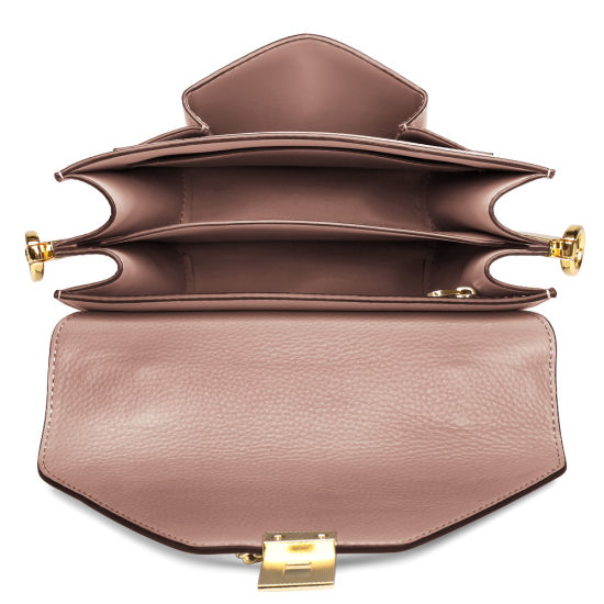 53c8108e37d4 China Custom Fashion Handmade Genuine Cowhide Lady Leather Handbags ...