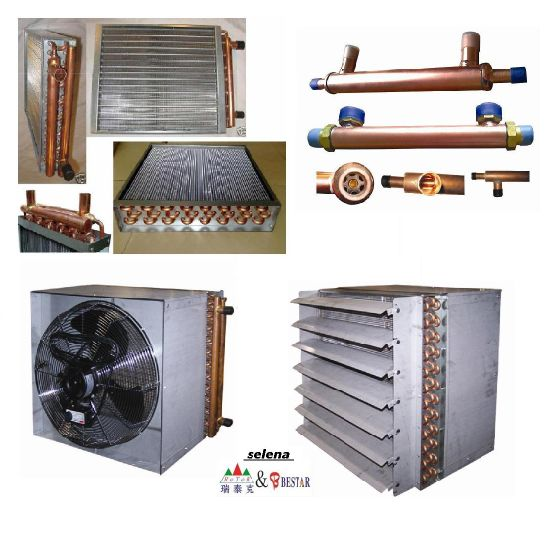 China 16X20 Water to Air Hot Water Coil Heat Exchanger for Outdoor ...