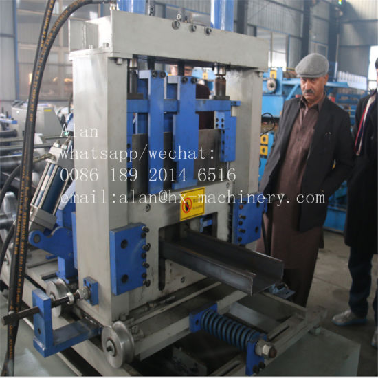China Automatic High Speed C Z U L W Light Steel Framing Machine ...