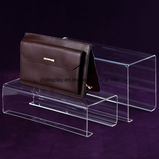 12e50ef79bc4 China Fashion Clear Acrylic Handbag Rack Displays Stand for Boutique ...
