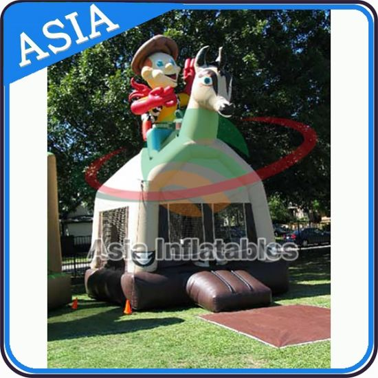 Party Hire Inflatable Western Cowboy Bounce House pictures & photos