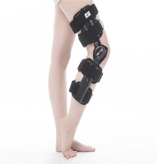 16913f128c China Hinged Knee Brace Orthosis Adjustable Knee Brace for Therapy ...