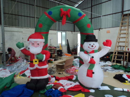 Inflatable Father Christmas/Inflatable Christmas Products pictures & photos
