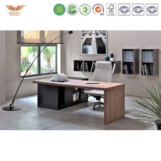 Manager Desk With Drawer L Shaped Office Table Executive CEO Desk Office  Desk Office Furniture