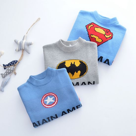 Factory Direct Sale Baby Clothing Children's Sweater Pullovers 100% Cotton Long Sleeve T-Shirt