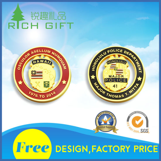 Supply Custom High Quality Fashion Atmosphere Coins pictures & photos