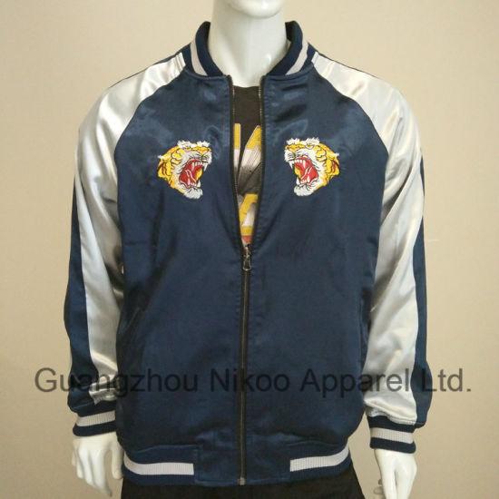 Wholesale Custom Embroidery Logo Men Jacket