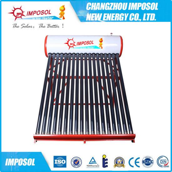 Sun Radiance Outdoor Heater Factory, Tank Solar Heater