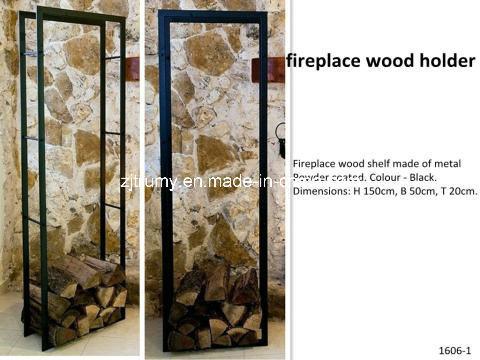 New Design Fireplace Wood Holder China Fireplace Wood Shelf