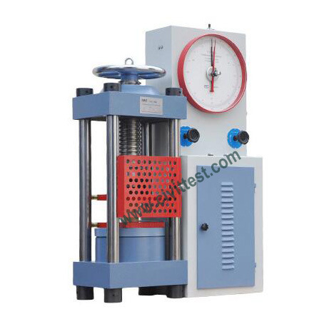 2000kn Analogue Display Dial Ctm Test Concrete Compression Testing Machine