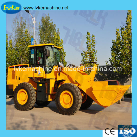 Chinese Construction Machinery Loader Wheel Loader with Hydraulic Pilot Loader pictures & photos