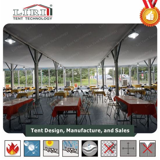 10-40m Cube Double Decker Tent with Clear Span Structure pictures & photos