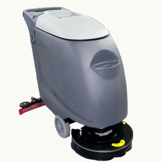 China Hand Push Electric Floor Scrubber