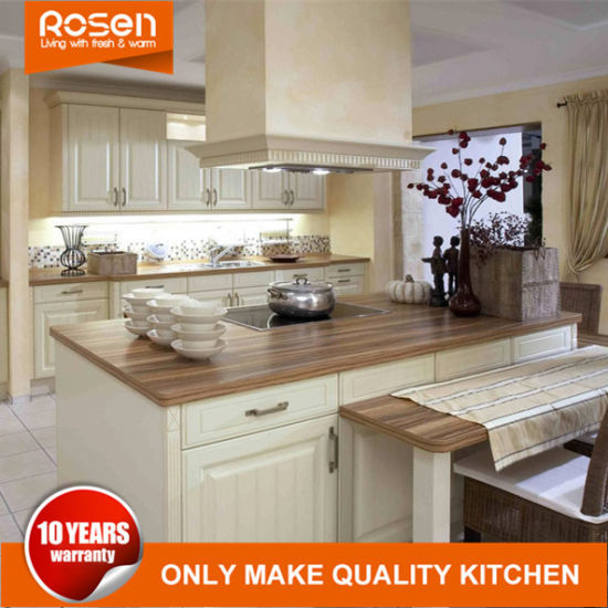 Low Cost White High Gloss PVC Outdoor Kitchen Cabinets