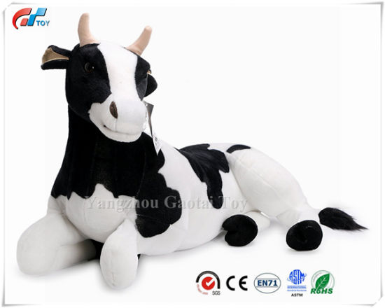 Milhouse The Cow 2 1/2 Foot Long Big Stuffed Animal Plush Cow Toy