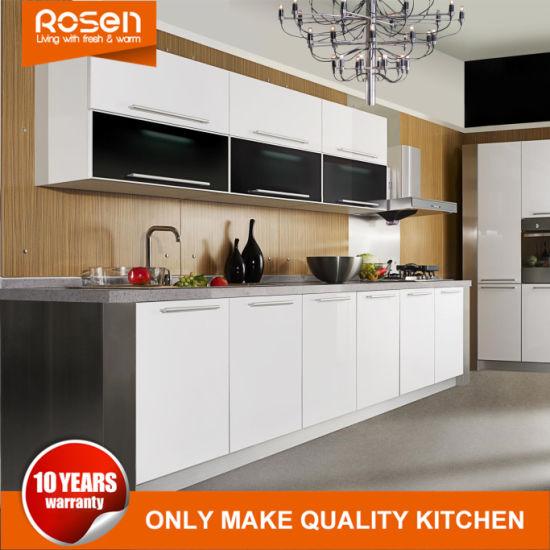 Modern Design MDF White Wholesale Kitchen Cabinets