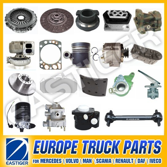Over 1000 Items Man Diesel Dump Truck Price Auto Parts pictures & photos
