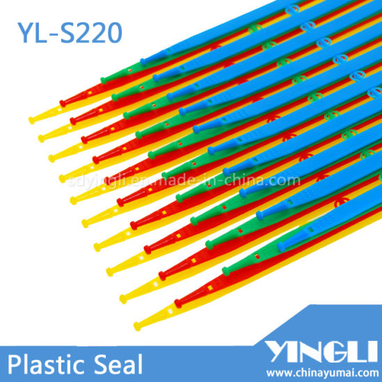 Fixed Length Middle Duty Security Seals with Inserted Locking (YL-S220) pictures & photos
