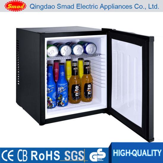 Hotel Use No Noise Thermoelectric Cooling Auto Defrost Mini Refrigerator