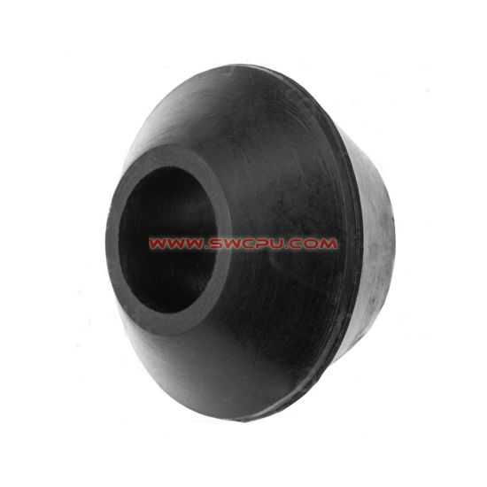 Custom-Made Colorful Plastic Auto Conical Flanged Muffler Bushing / Support Sleeve pictures & photos