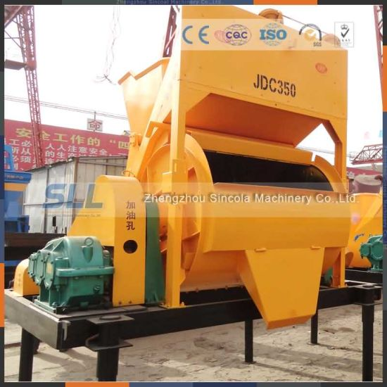 Mini Concrete Concrete Pan Mixer for Sale/Hzs50 Mixing Machine pictures & photos