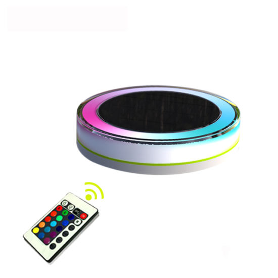 Solar Decorative Garden Road LED Light 10 Colors Colorful Light Used in Water