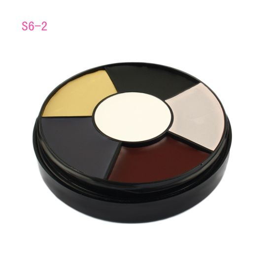 Halloween 6 Colors Carnival Face Paint Palette Body Oil Painting Artist  Make up Party Fancy Dress Makeup Tools Random