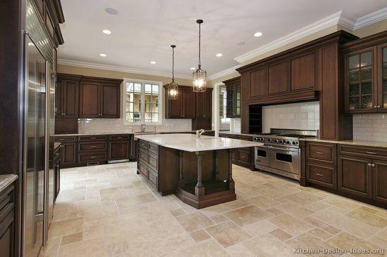 Dark Walnut Kitchen Cabinets Dw6