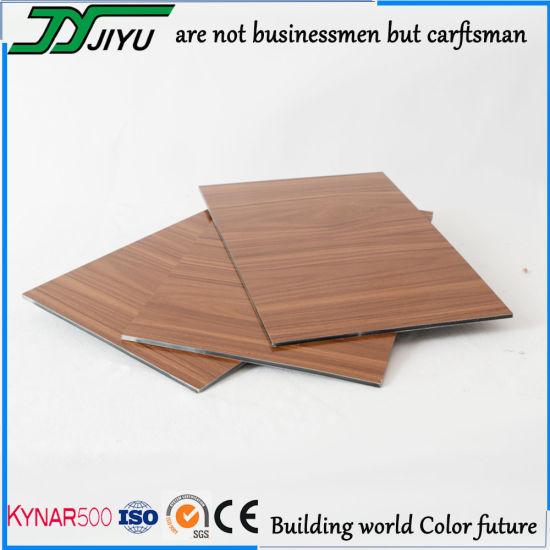 Exterior Construction Decorative Wall Materials Wooden Color