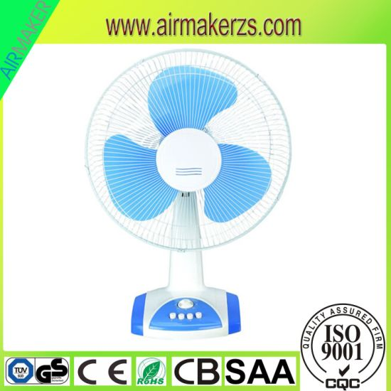 "12"" Table Fan with VDE Plug Cooling Table Fan pictures & photos"