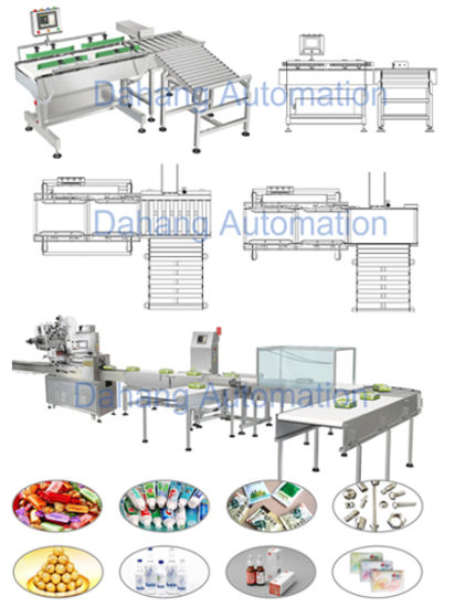 50kg Beverage Box Checkweigher with 60 PCS/Min pictures & photos